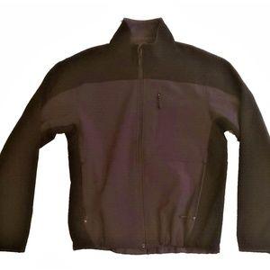 KIRKLAND Men's Jacket Gray / Black Zip Up Size M